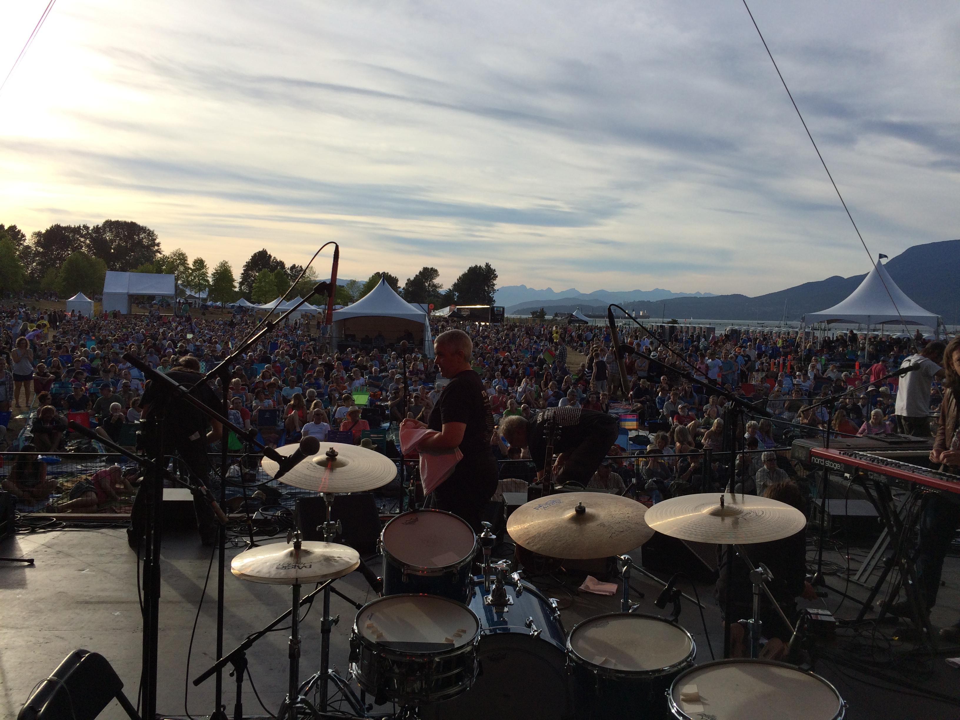 HW at Vancouver Folk Fest 2015