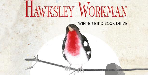 Winter Bird Tour Sock Drive